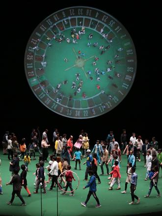 2014년 5월 26일 국립극장 해오름극장에서 공연된  〈100% 광주〉