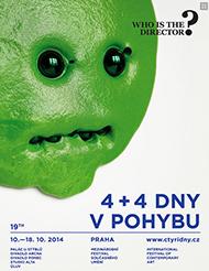 4+4 dny v pohybu 2014 poster