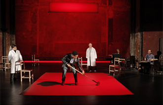 Peter Brook's <The Valley of Astonishment> the opening piece