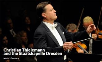 공식 개막 : 드레스덴 국립 관현악단