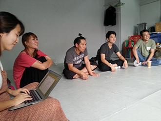 Co-creation workshop for Something Missing ©KAMS