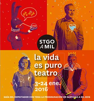 제23회 산티아고 아밀 국제축제 포스터©Santiago a Mil International Festival