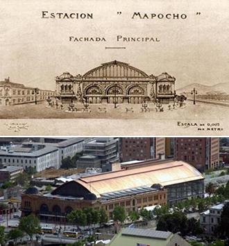 마포초역 문화센터©Centro Cultural Estación Mapocho