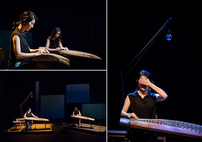 ▲ gayageum performer PARK, Gyeong-so © LEE, Kang-hyeok