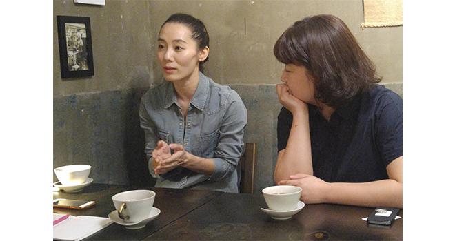 ▲ sorikkun Lee Seung-heeeung-hee and gosu Lee Hyang-ha yang-ha © Park Ye-lim