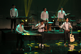 2014 에이팜, 어쿠스틱 앙상블 재비 공연모습