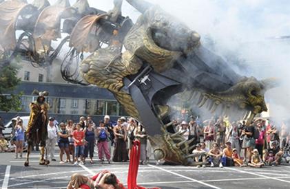 오리악국제거리극축제
