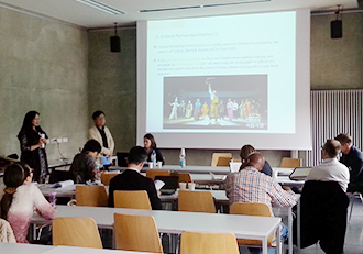 Korean participants presenting at ICCPR 2014